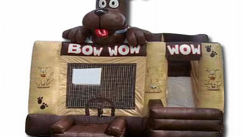 Bow Wow Dog Jumping castle