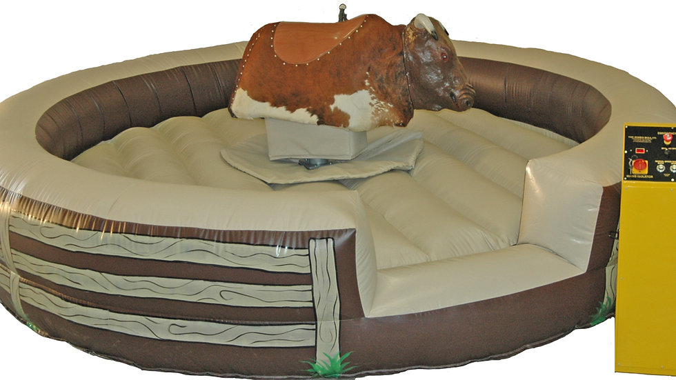 Electric Bull ( rodeo bull ) on sale with surfboard