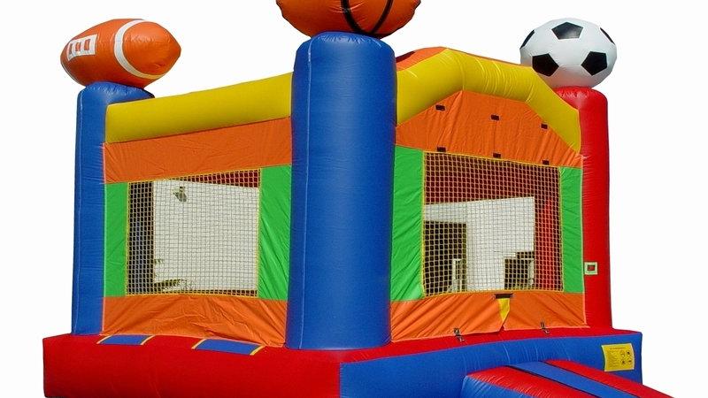 Wacky Arched Sport Bounce House