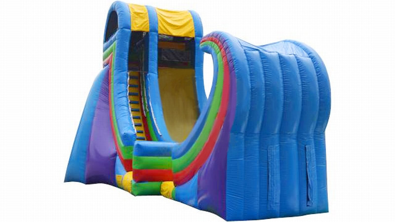 20' Rampage Inflatable Water Slide