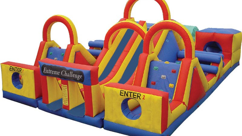 Adventure Rush Inflatable Obstacle Course