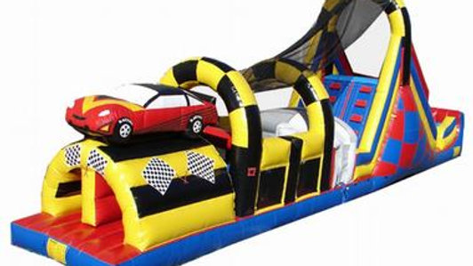 Racing Car Obstacle Game