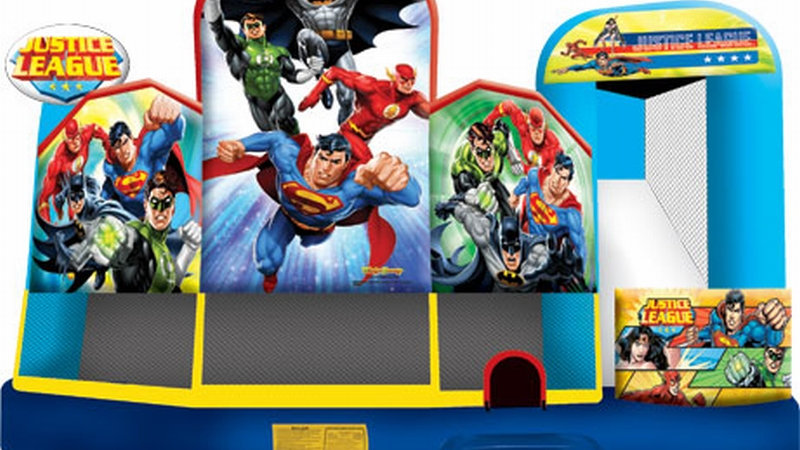 New Inflatable Justice League 5 in 1 Combo