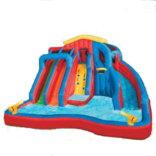 water gun slide swimming splash pool banzai - Blow Up Water Slides