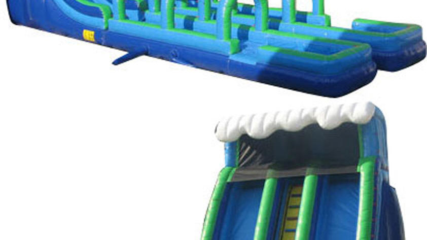 20 feet inflatable slip and slide water slide