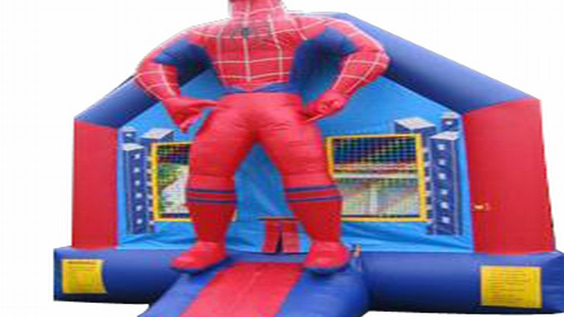 Giant Spider Man Jumping Castle