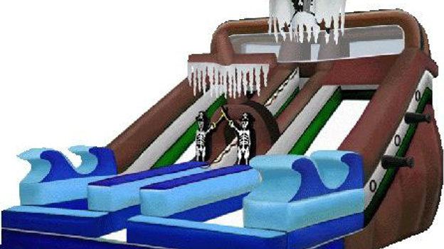 Pirate Themed  Adult Slide