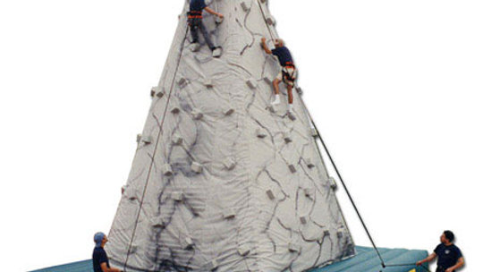 Inflatable Rocky Mountain Climbing