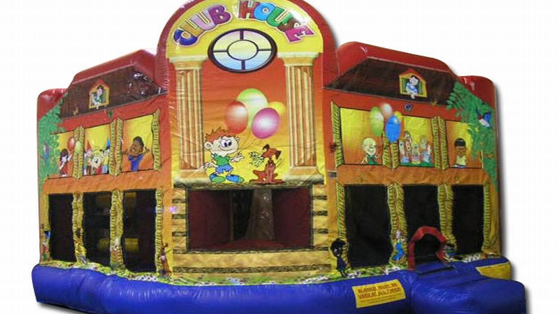 Club House Combo Jumping Castle