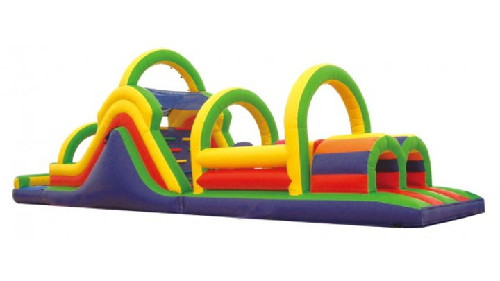 Wet/Dry Inflatable  Obstacle Course