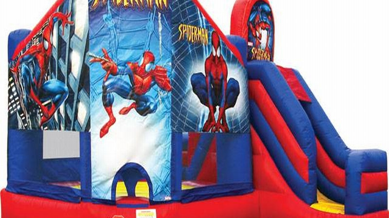 Spider man jumping castle Combo