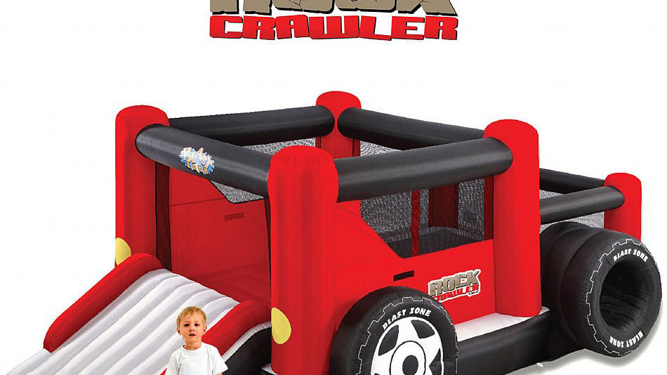 Inflatable Rock Crawler Truck Bouncer
