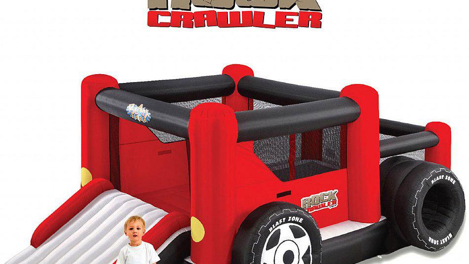 Inflatable Rock Crawler Truck Bouncer