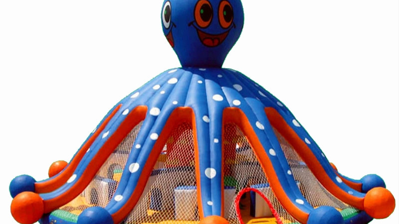 Octopus Bounce House