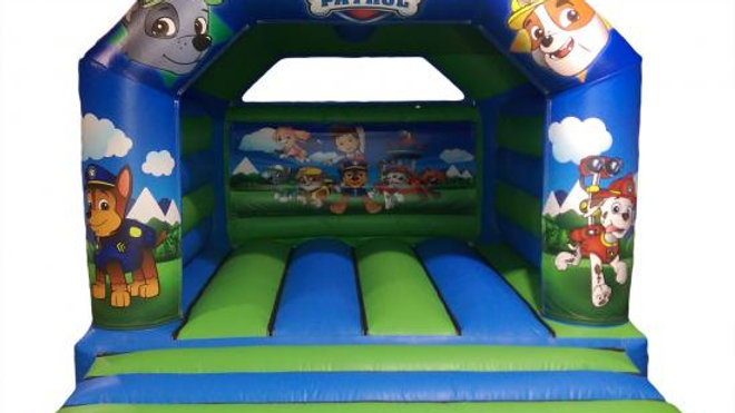Paw patrol inflatable jumping castle