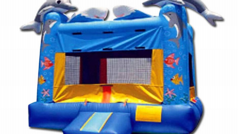 Deep Sea Dolphin Bouncing castle