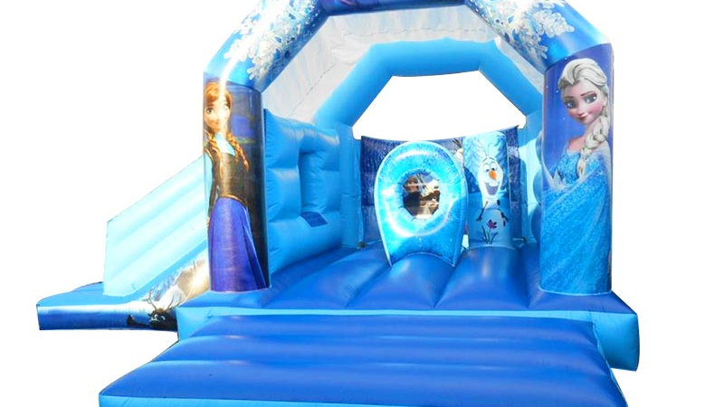 Frozen Bouncy Castle Combo
