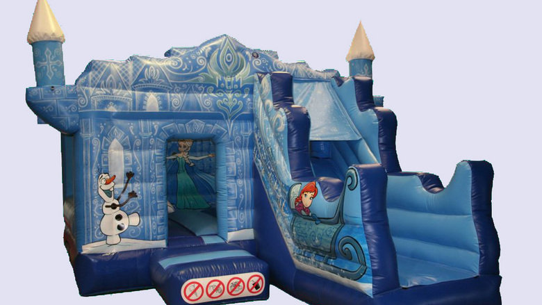 New Frozen jumping castle combo