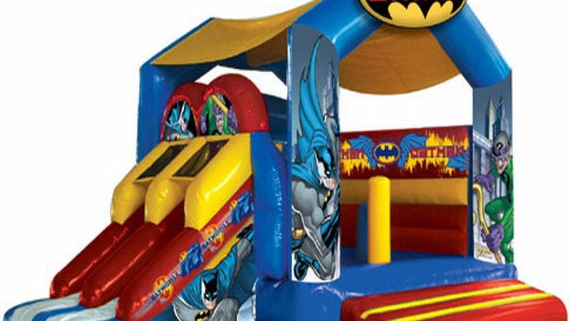 Inflatable batman Bounce Combo