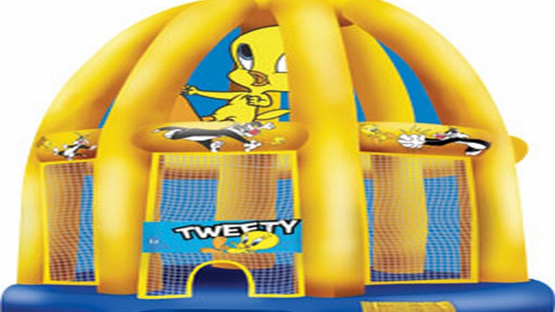 Inflatable Tweety Cage Jumping castle
