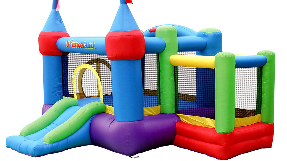 Inflatable Bounce Land Castle With Ball Pit Slide(Commercial/Domestic)
