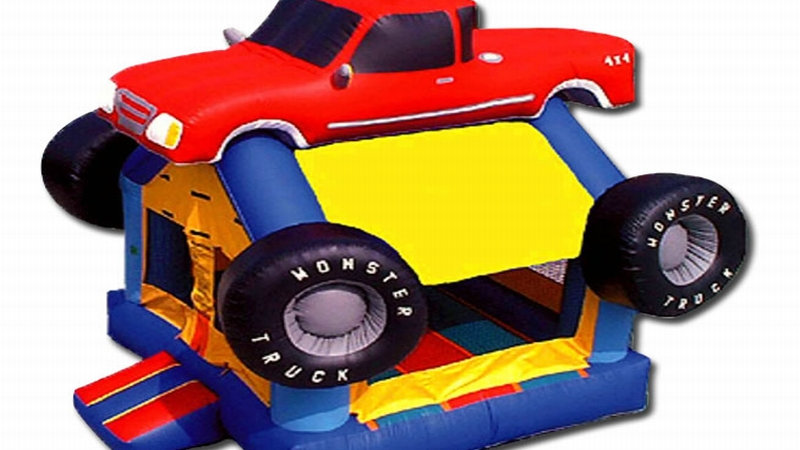Inflatable Monster Truck