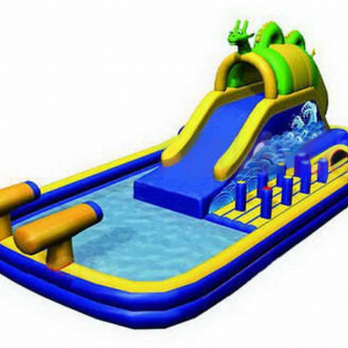 monster inflatable water park - Inflatable Water Slide