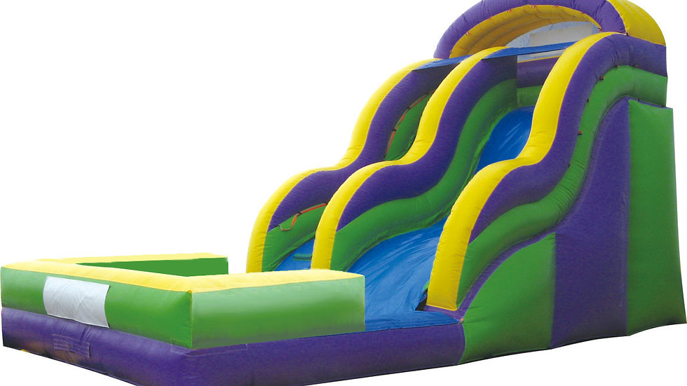 cheap inflatable water slide