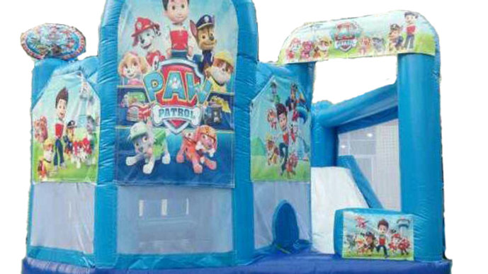 Paw patrol inflatable jumping castle 5 in 1 combo