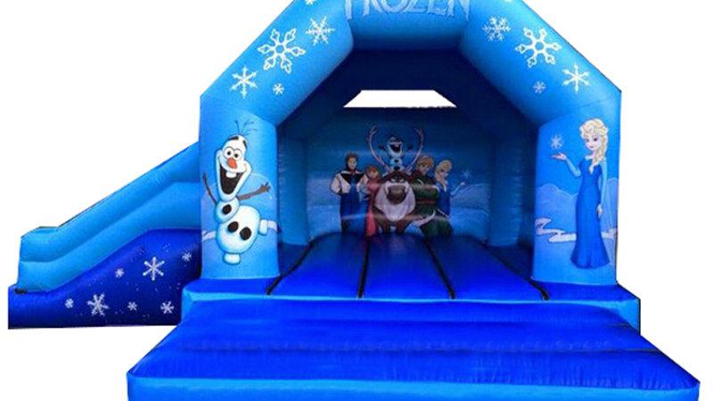 Frozen Jumping Castle Combo