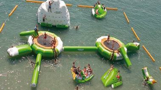 Aviva Water Park Inflatable