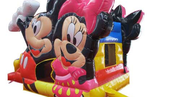 Inflatable Mickey & Minnie Jumping Castle