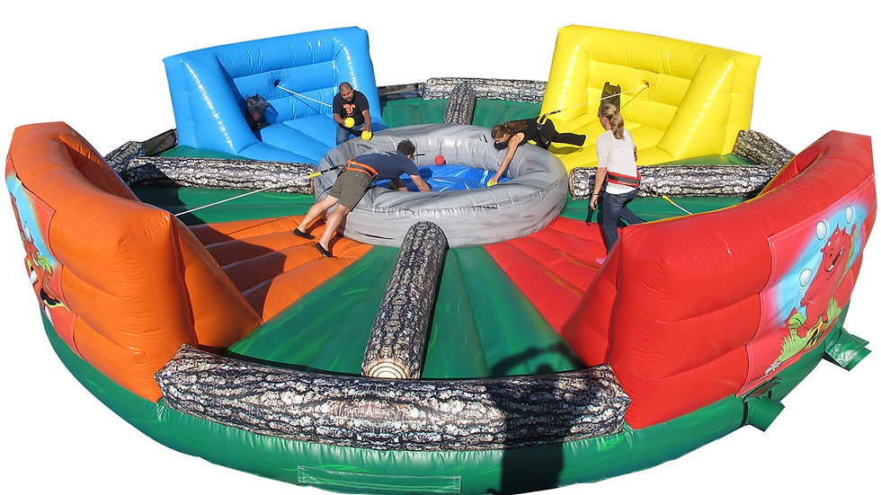 Hungry Hippo Chow Down Inflatable Game