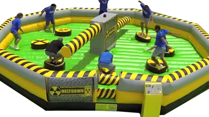 Interactive Inflatable Eliminator Game