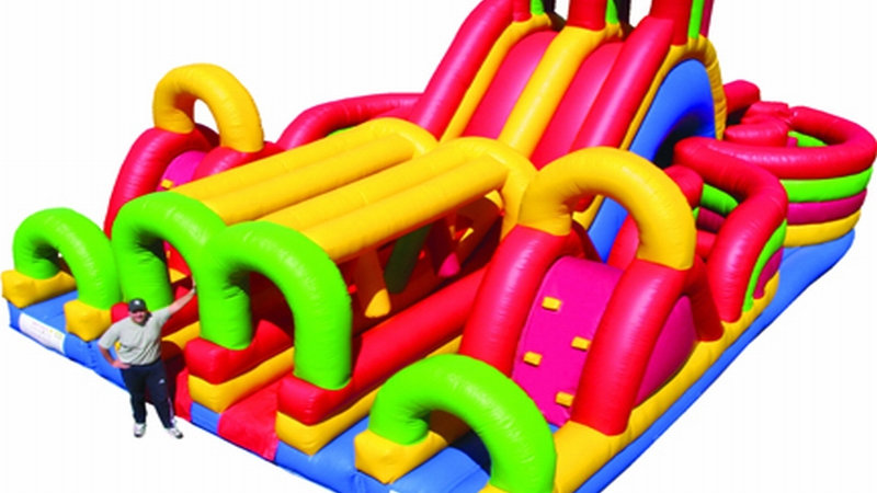 Bouncer Maze Outdoor Obstacle Course