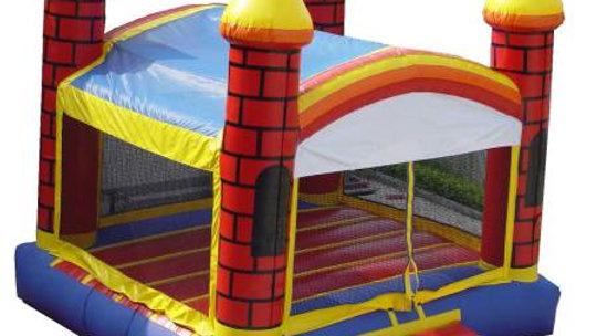 Inflatable boys bounce