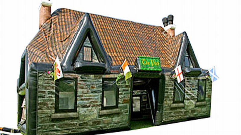 Inflatable Pub (Irish Pub)
