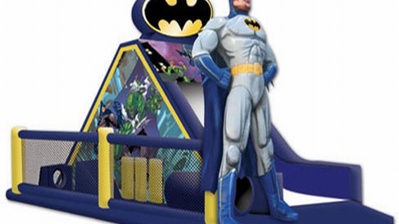 Bat Man Game Challenge Obstacle Course For Kids