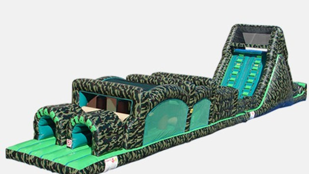 camouflage Inflatable Obstacle course