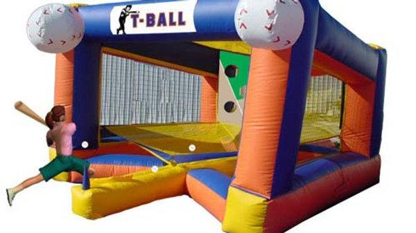 T Ball Base Ball Game