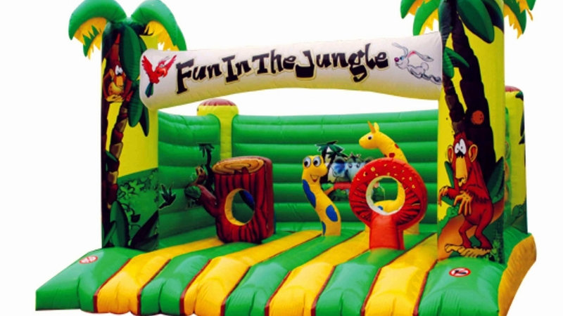 Safari Jungle Bounce House