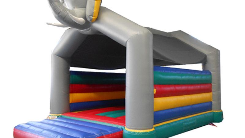 large Elephant Bounce House