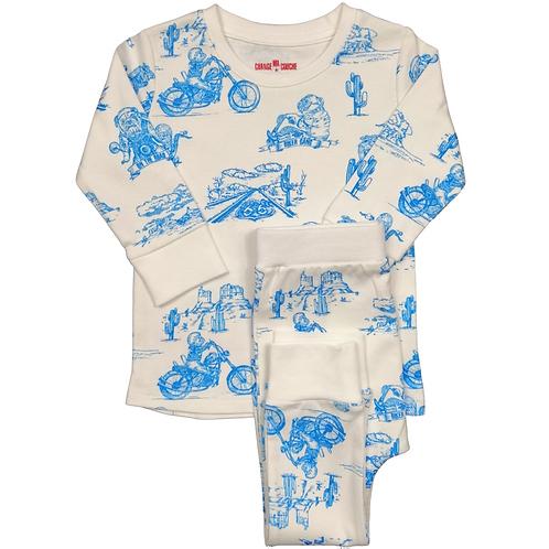 Pyjama  - Blue Biker