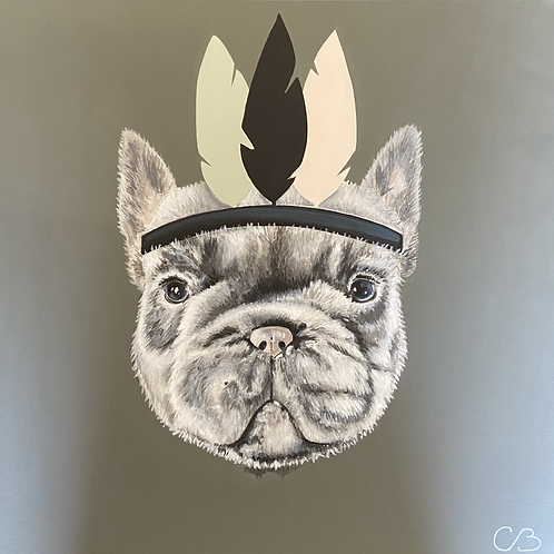 Tableau Bulldog Français