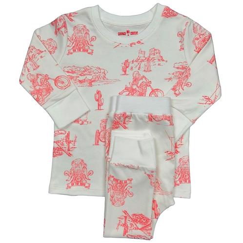 Pyjama - Pink Biker