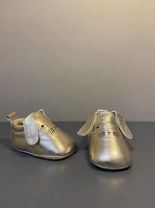 Chaussons en cuir souple bébé