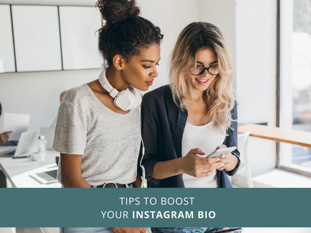 Tips to Boost Your Instagram Bio