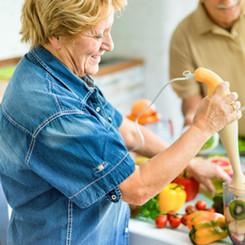 Doubling Up on Fruits & Vegetables Reduces Health Risks