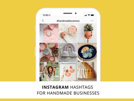 Best Hashtags for Handmade Businesses