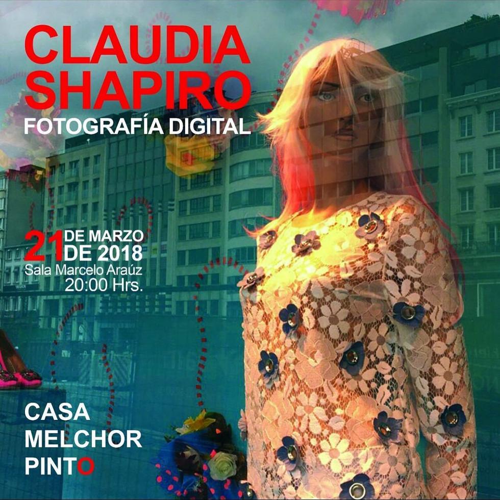 Shapiro, Flyer, 2018/03/21, Fotografía Digital, CasaMPinto